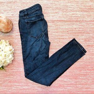 Ann Taylor | Curvy Skinny Jeans Dark Wash Size 2